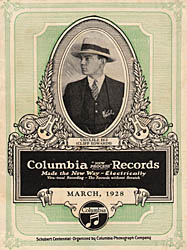 Cliff Edwards on a record catalog