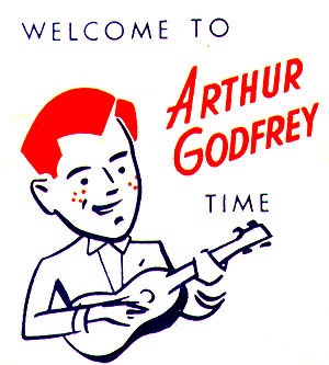 Image from a sugar packet, souvenir  of the Arthur Godfrey Time television show