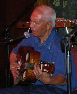 Eddie Kamae performing, 2005